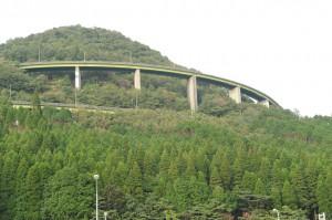 えびの市のループ橋