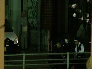 宮崎市で暴れる男性