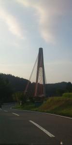 熊本県山都町の鮎の瀬大橋